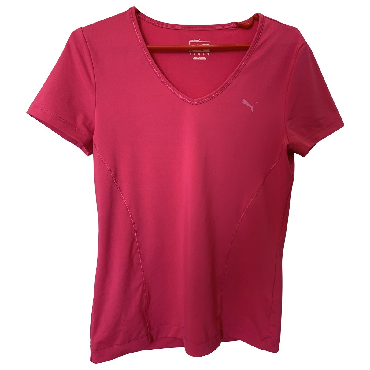 Puma \N Top in  Rosa Polyester