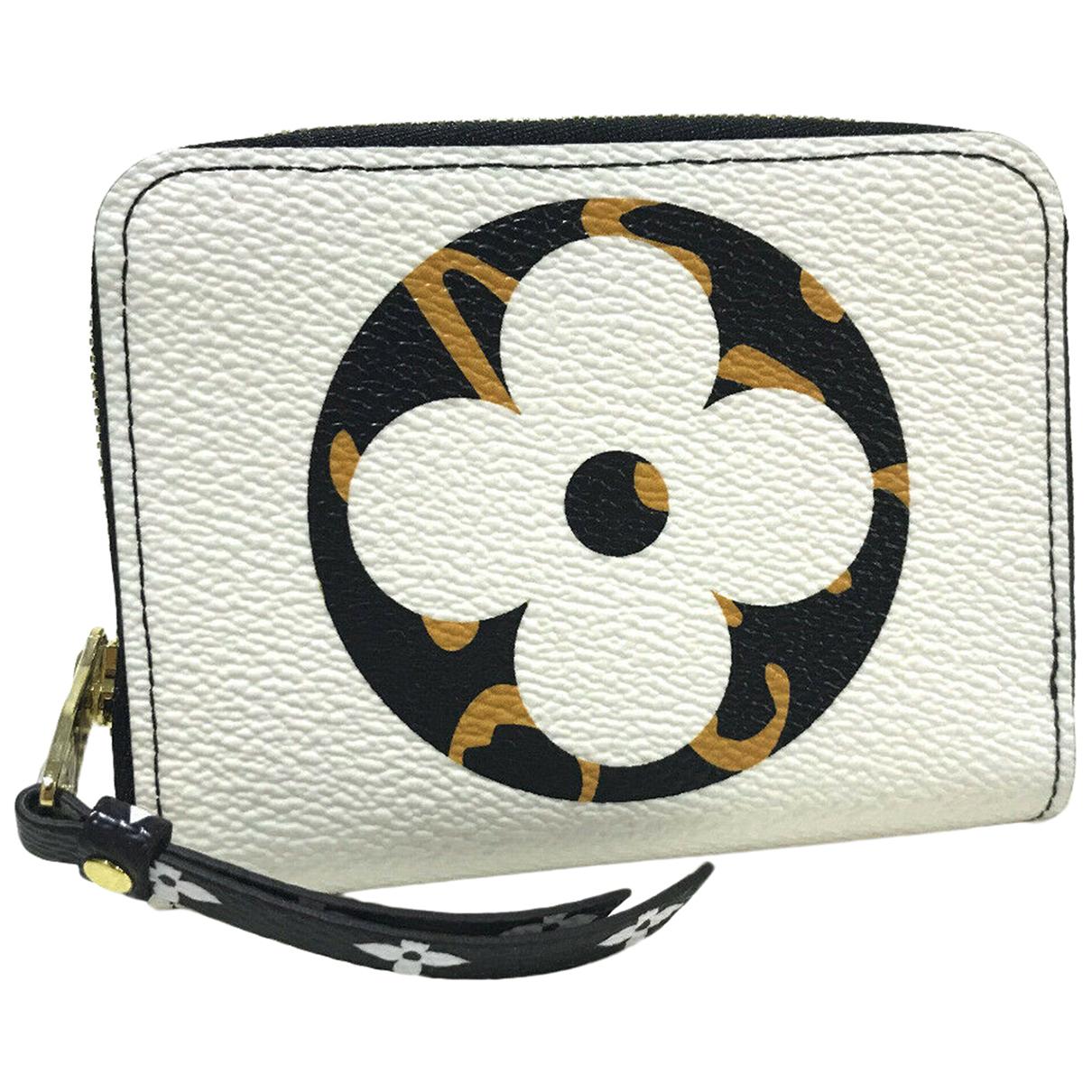 Louis Vuitton - Portefeuille Zippy pour femme en cuir - multicolore
