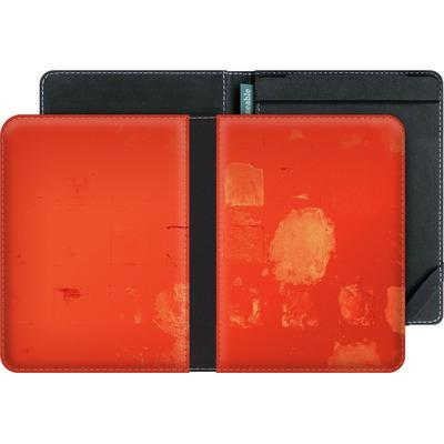 tolino vision 4 HD eBook Reader Huelle - Red Block Background von Brent Williams