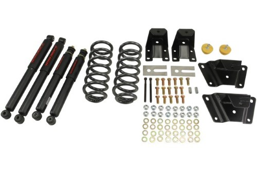 Belltech 902ND 2inch Front 4inch Rear Lowering Kit w/ ND2 Shocks Ford Ranger Std Cab 1989-1997