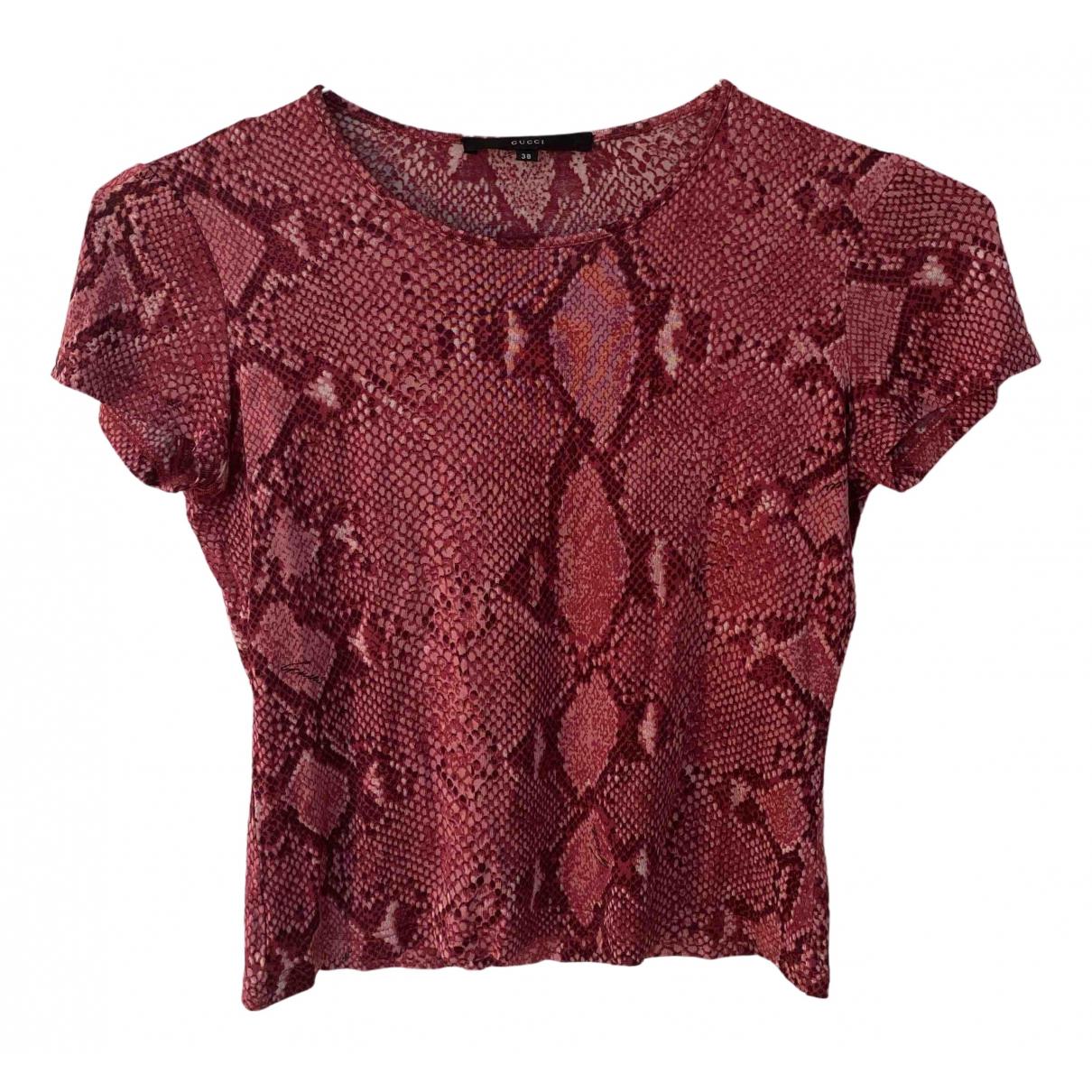 Gucci - Top   pour femme - rose