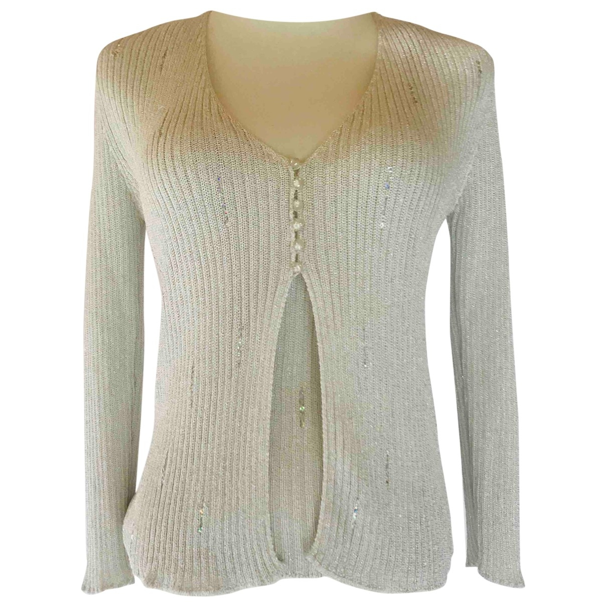 Class Cavalli \N Silver Knitwear for Women 42 IT