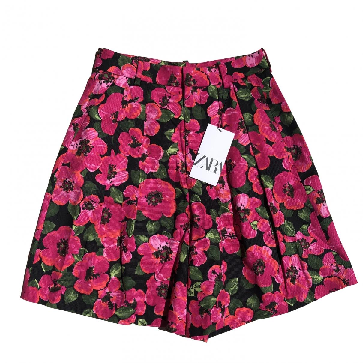 Zara \N Multicolour Shorts for Women XS International