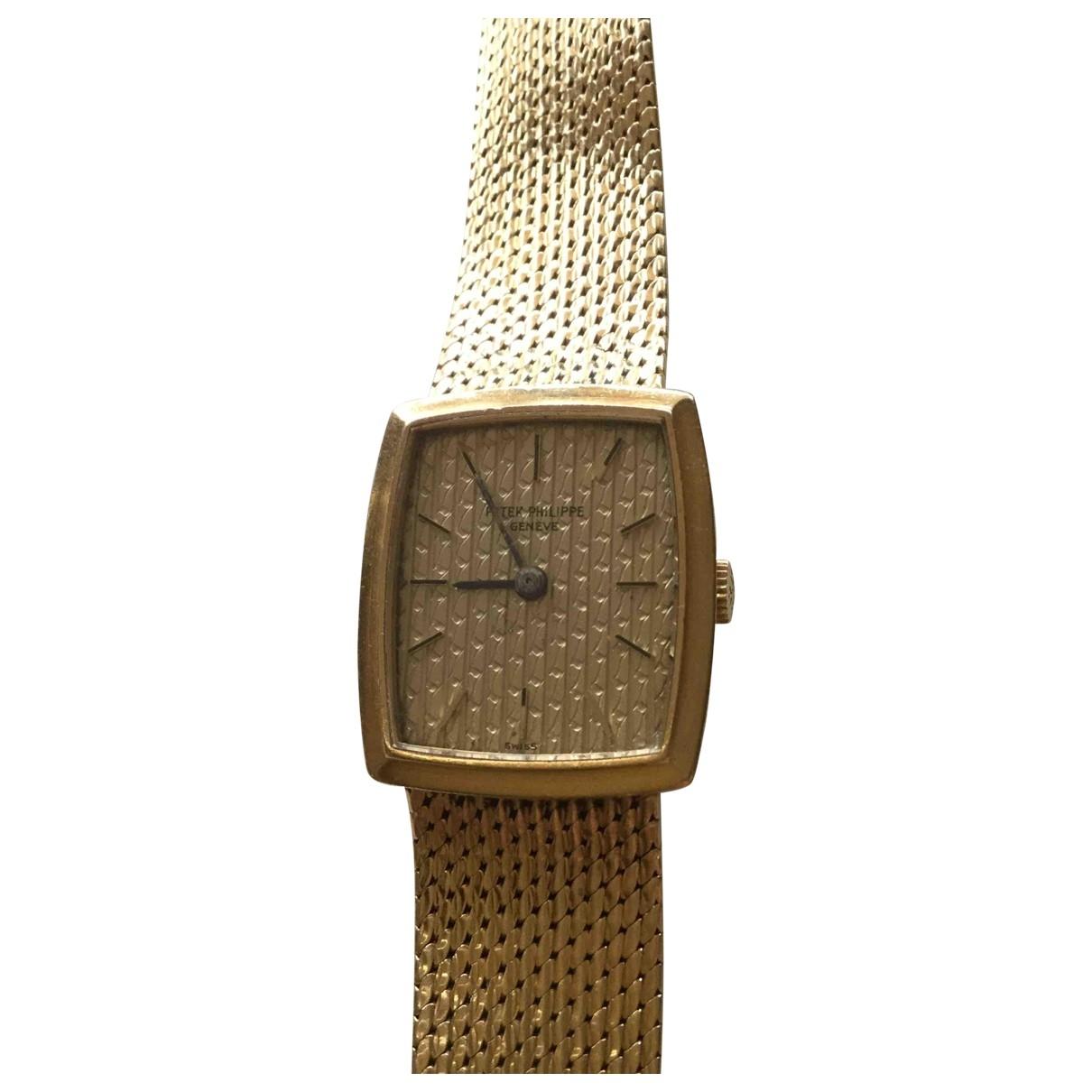 Patek Philippe \N Uhr in  Gold Gelbgold