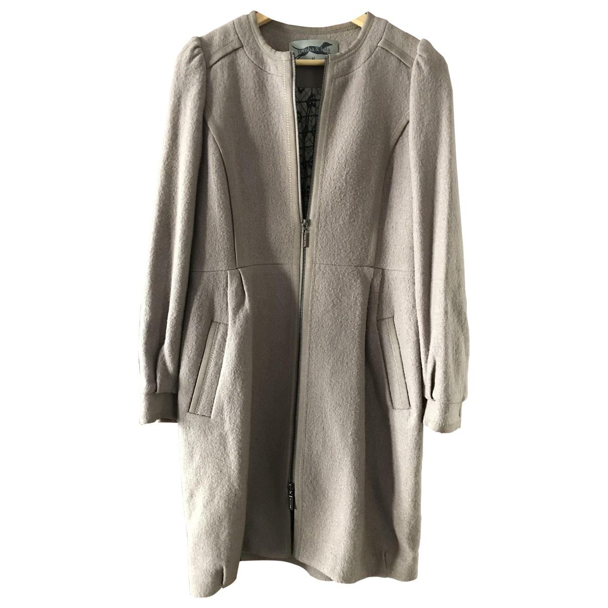 Bimba Y Lola \N Grey Wool coat for Women M International
