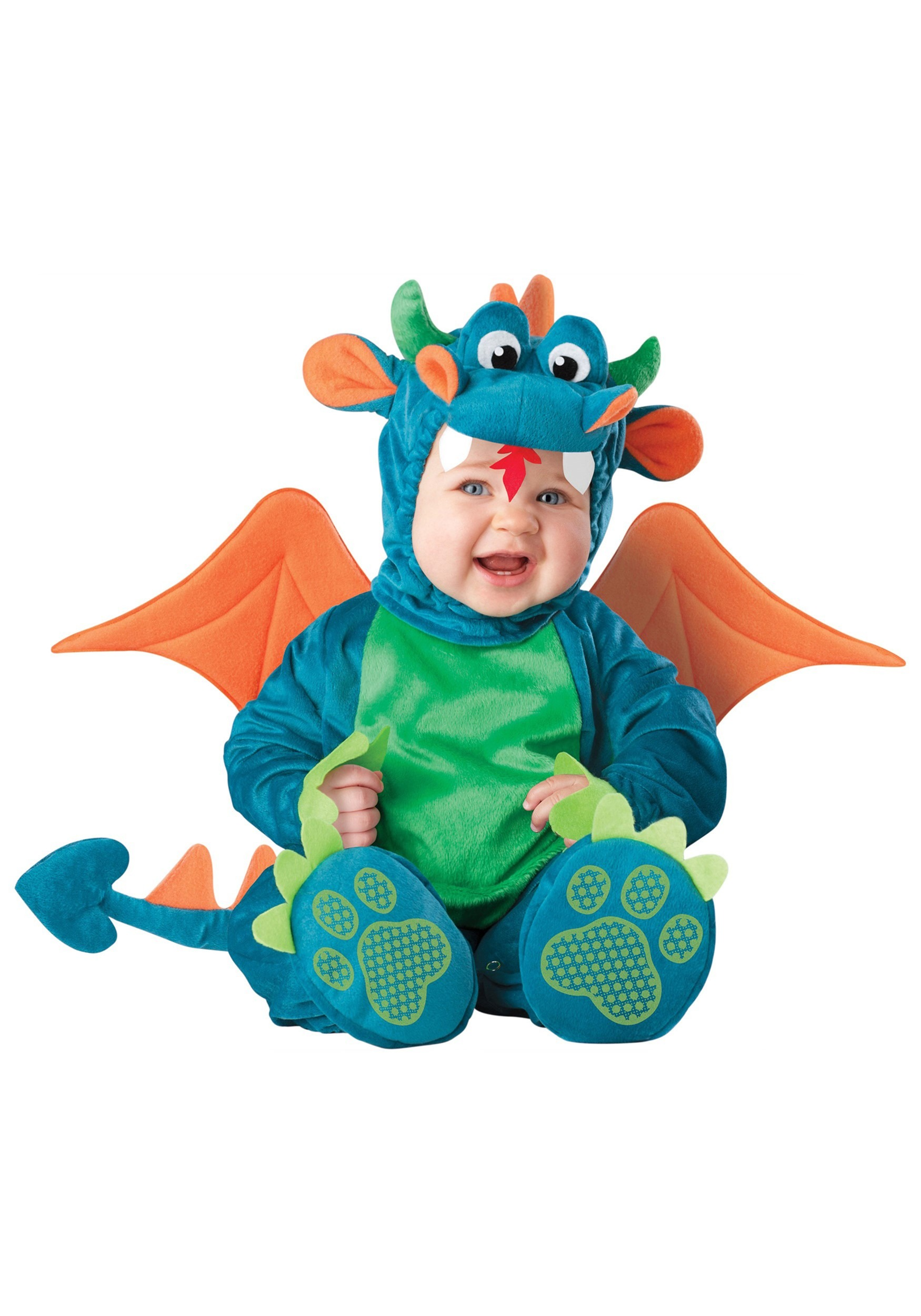 Plush Dragon Costume for Babies
