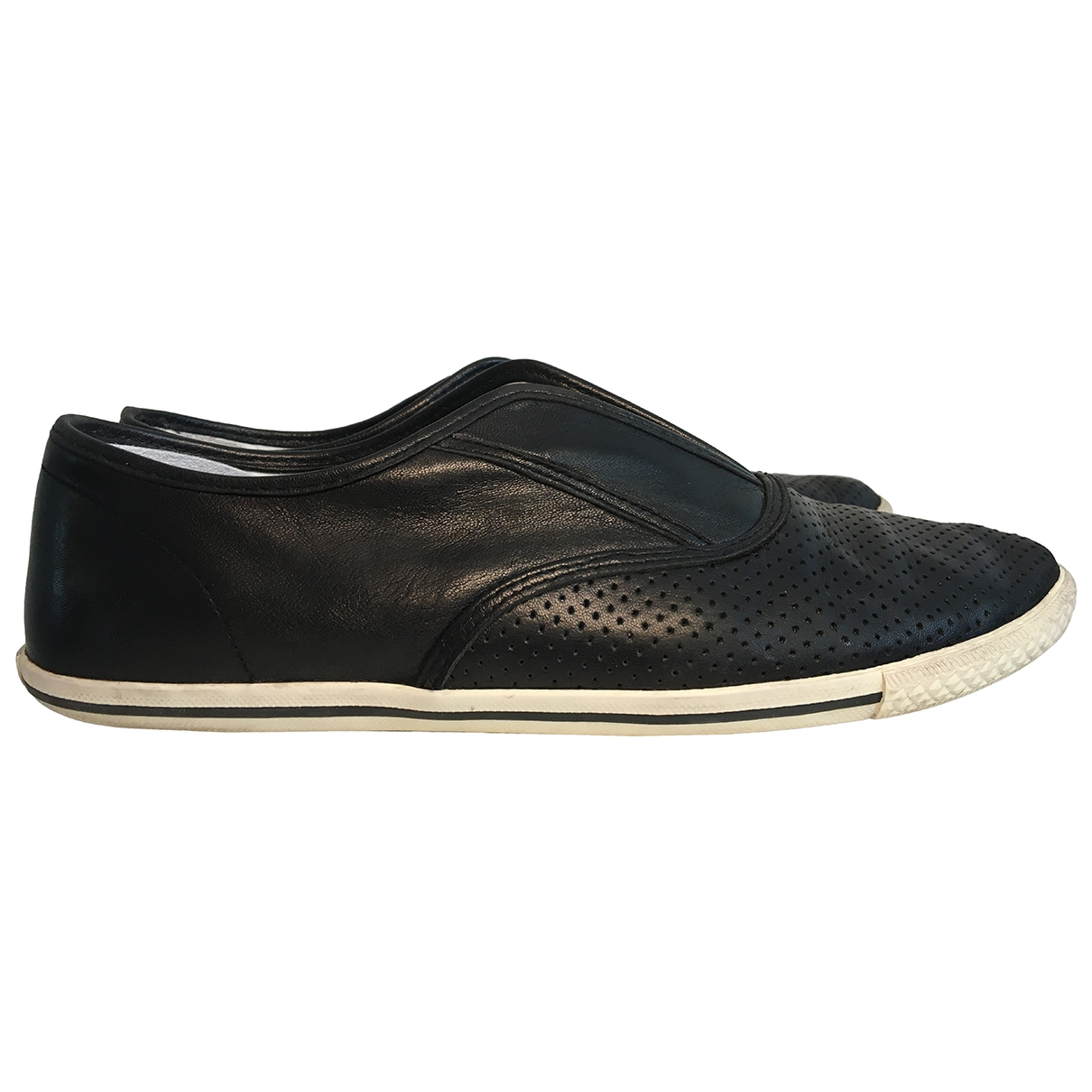 Marc By Marc Jacobs \N Black Leather Flats for Women 37 EU