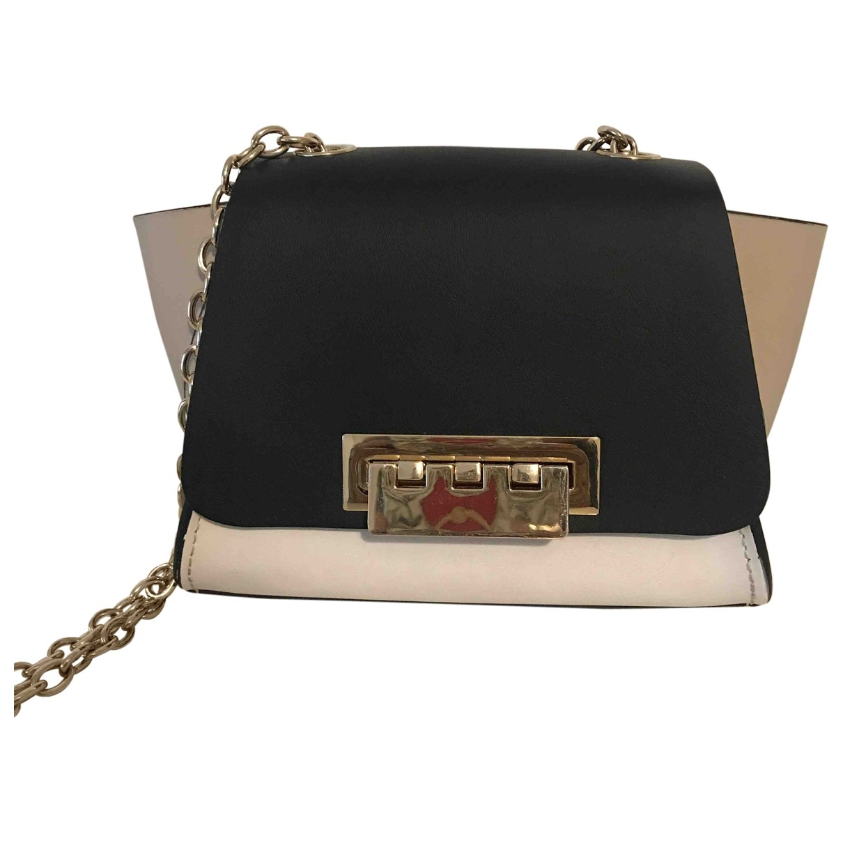 Zac Posen \N Beige Leather handbag for Women \N