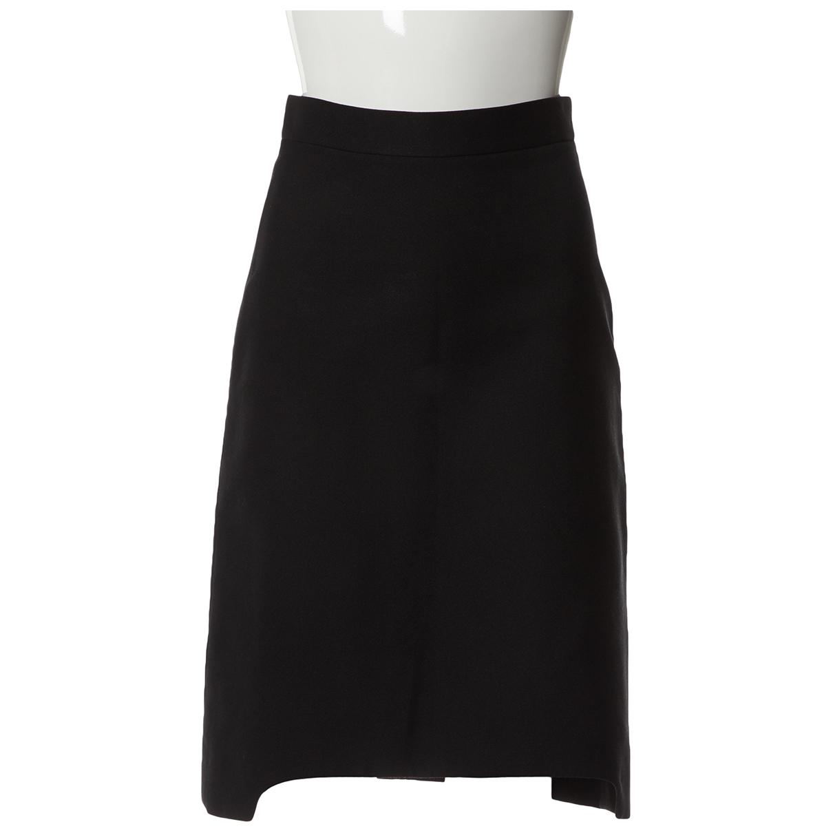 Yves Saint Laurent - Jupe   pour femme en laine - noir
