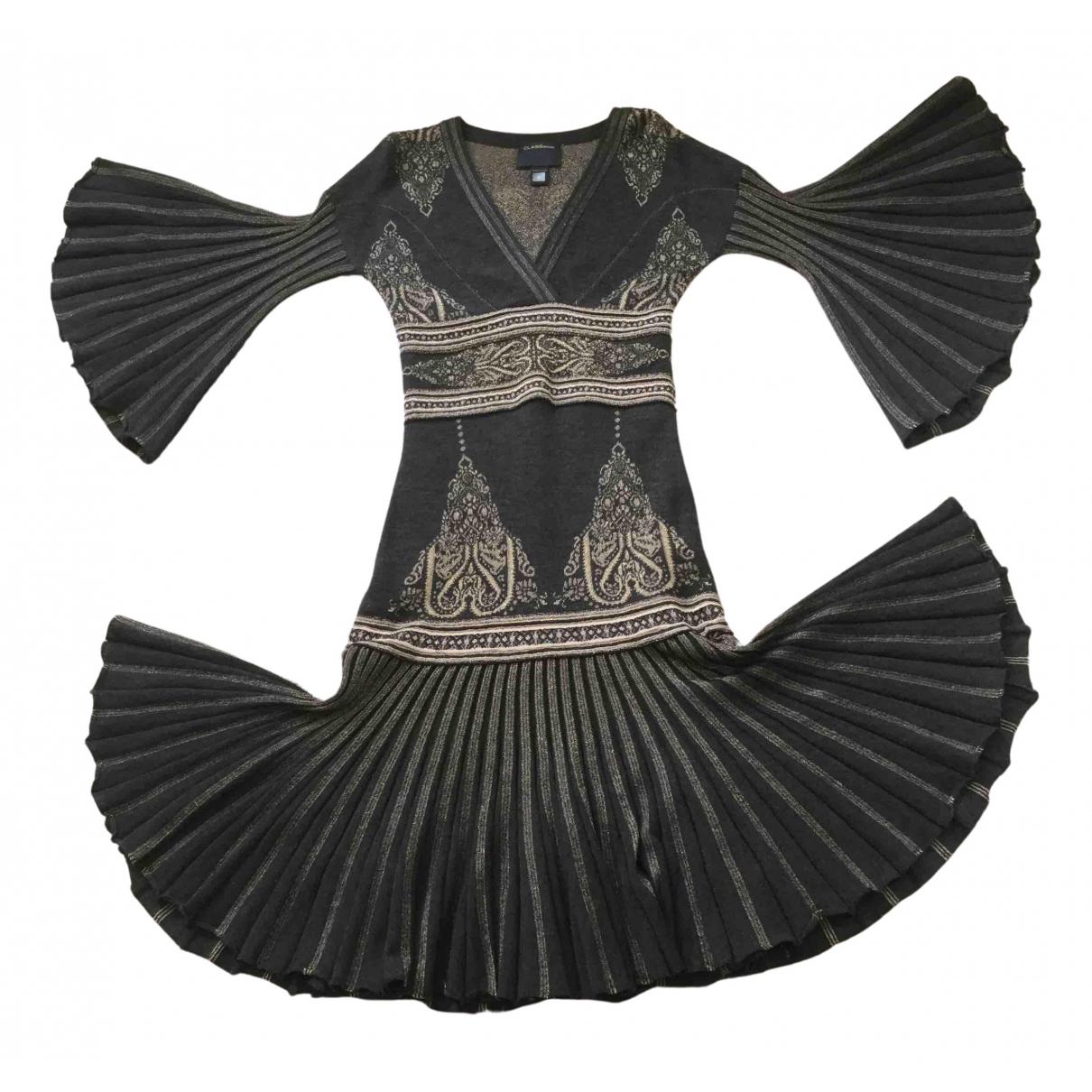 Class Cavalli N Grey Wool dress for Women S International