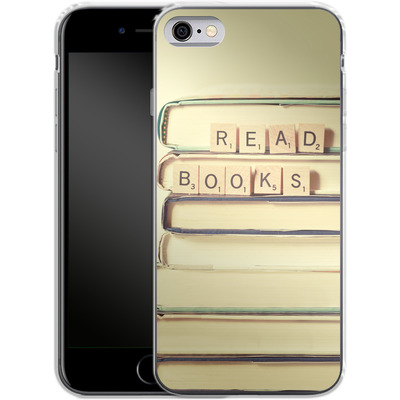 Apple iPhone 6s Silikon Handyhuelle - Read Books von Joy StClaire
