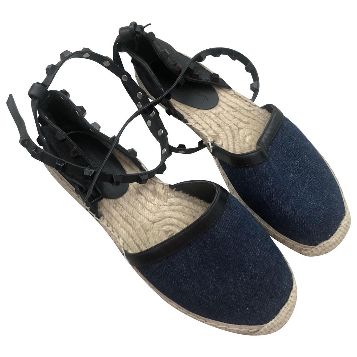 Rebecca Minkoff \N Espadrilles in  Blau Denim - Jeans