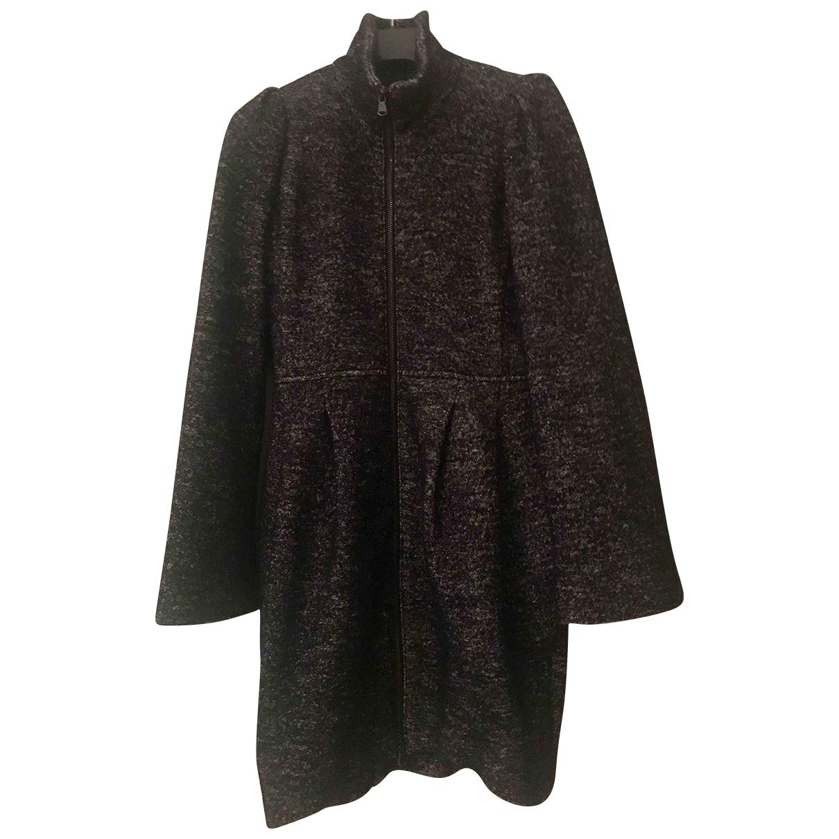 Max & Co \N Blue Cotton coat for Women 40 IT