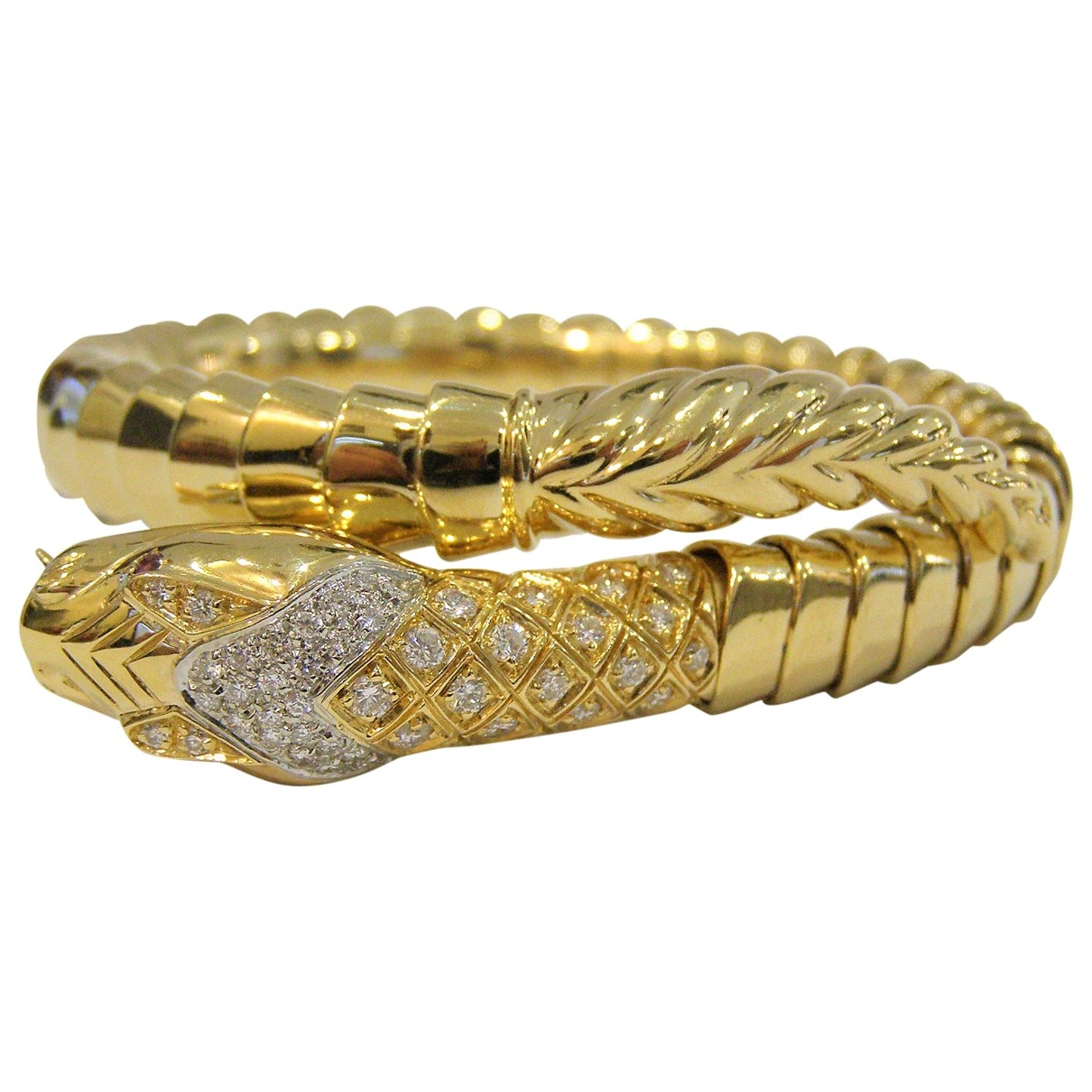 Non Signé / Unsigned Toi & Moi Yellow Yellow gold bracelet for Women \N