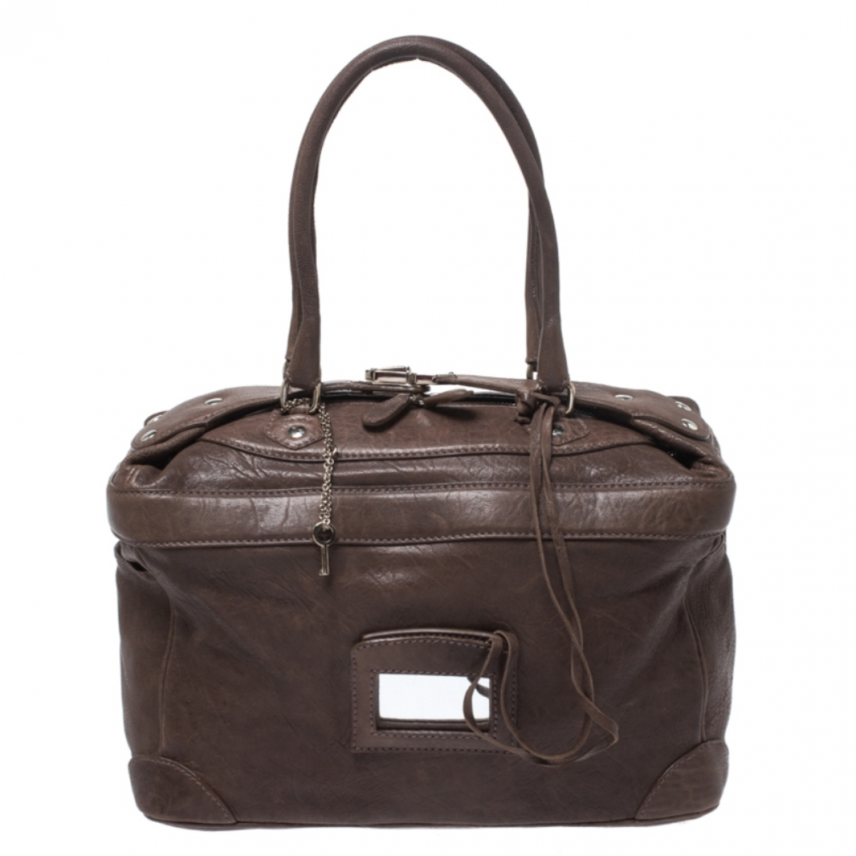 Balenciaga \N Brown Leather handbag for Women \N