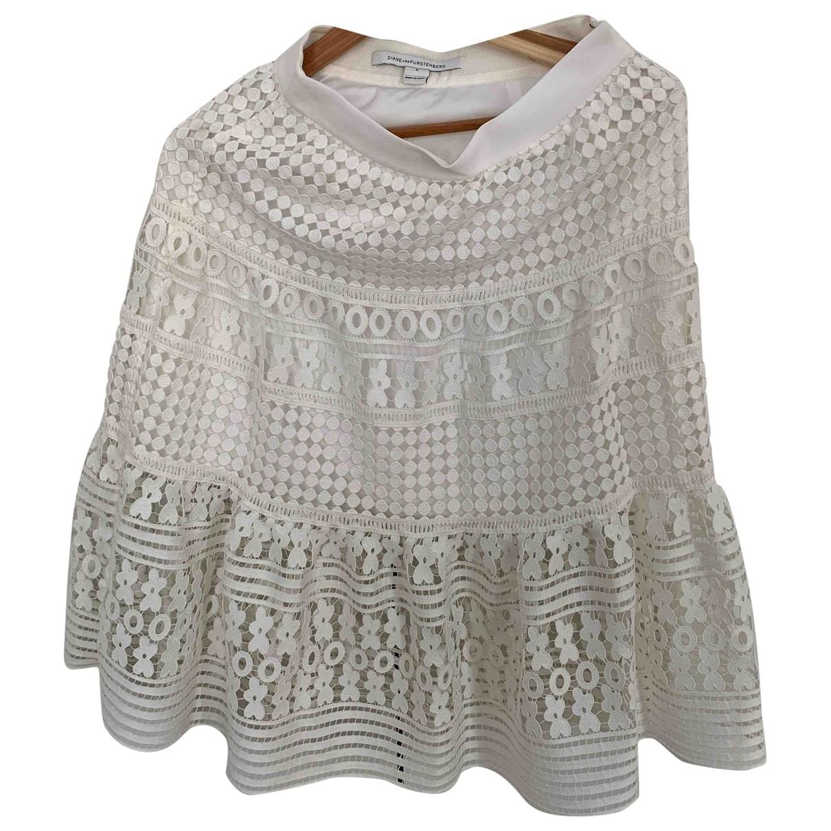 Diane Von Furstenberg \N Ecru skirt for Women 0 0-5