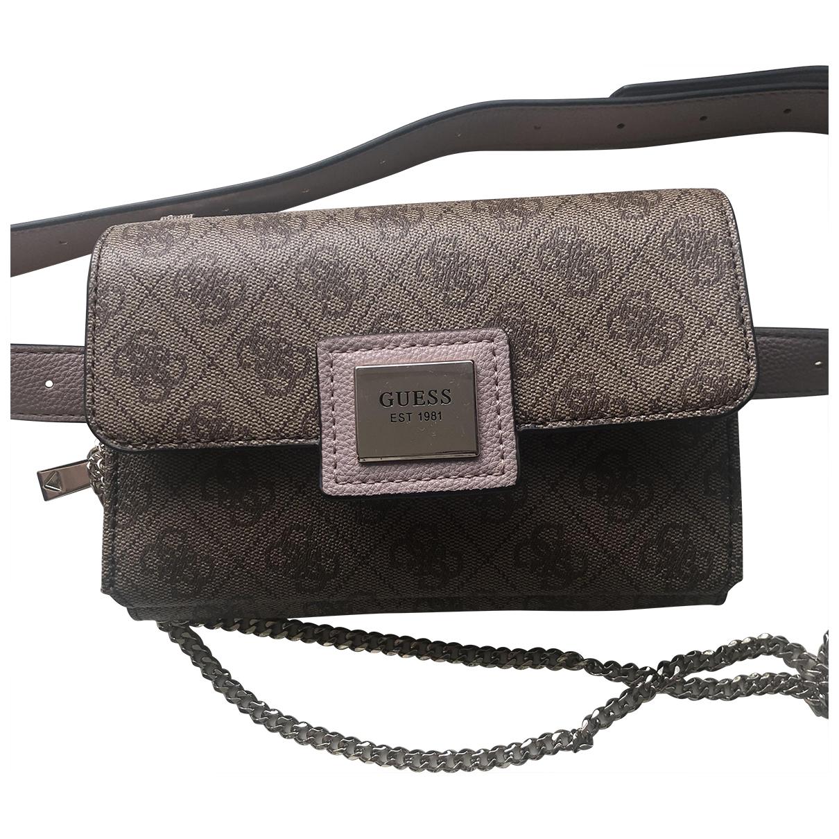 Guess \N Beige Clutch bag for Women \N