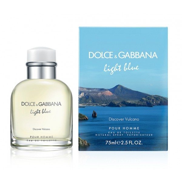Light Blue Discover Vulcano - Dolce & Gabbana Eau de toilette en espray 75 ML