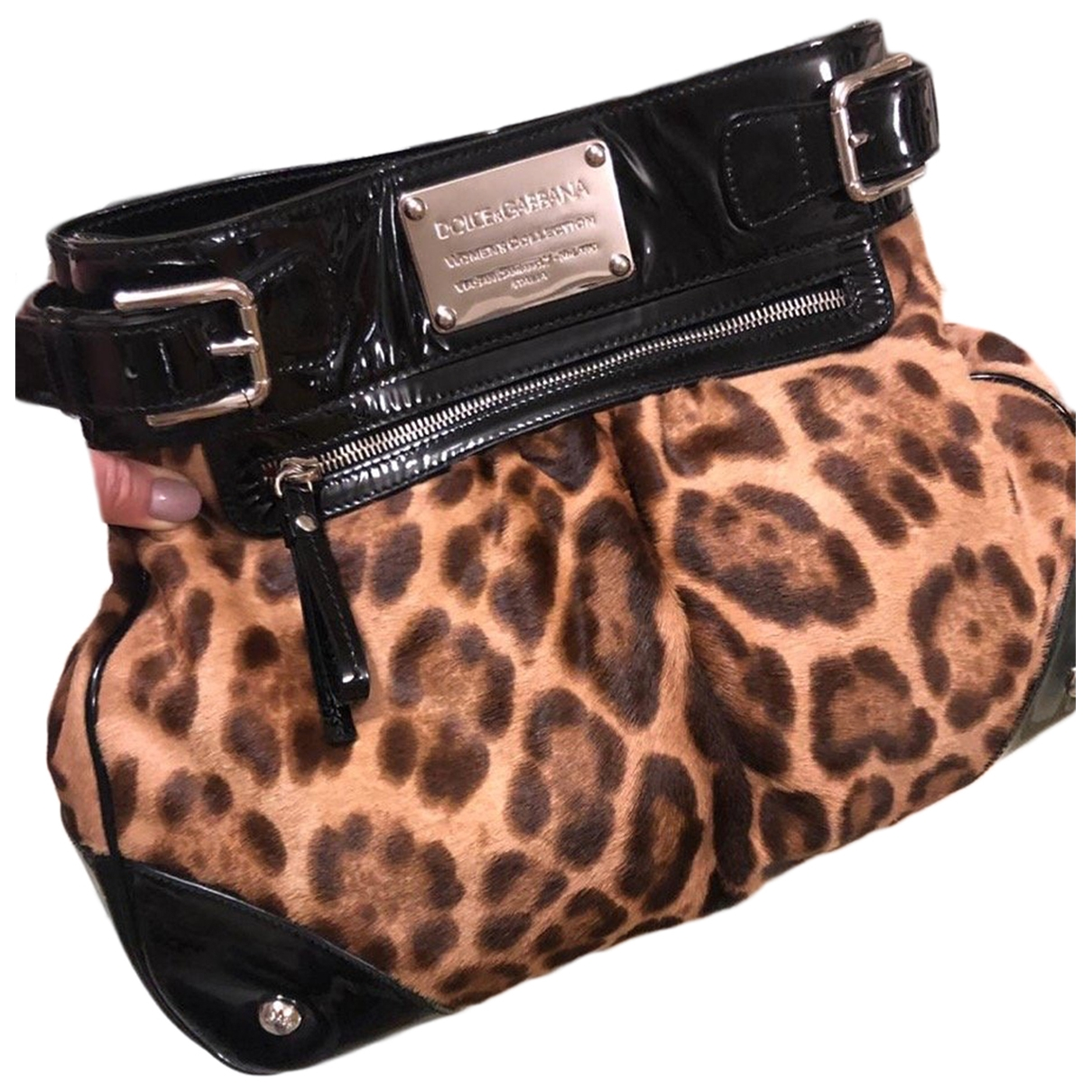 Bolso  de Piel de potro de imitacion Dolce & Gabbana