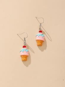 Ice Cream Drop Earrings