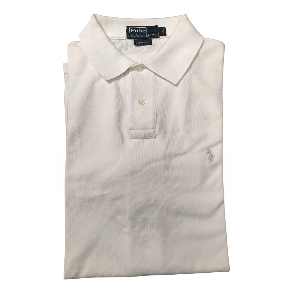Polo Ralph Lauren \N Poloshirts in  Weiss Baumwolle