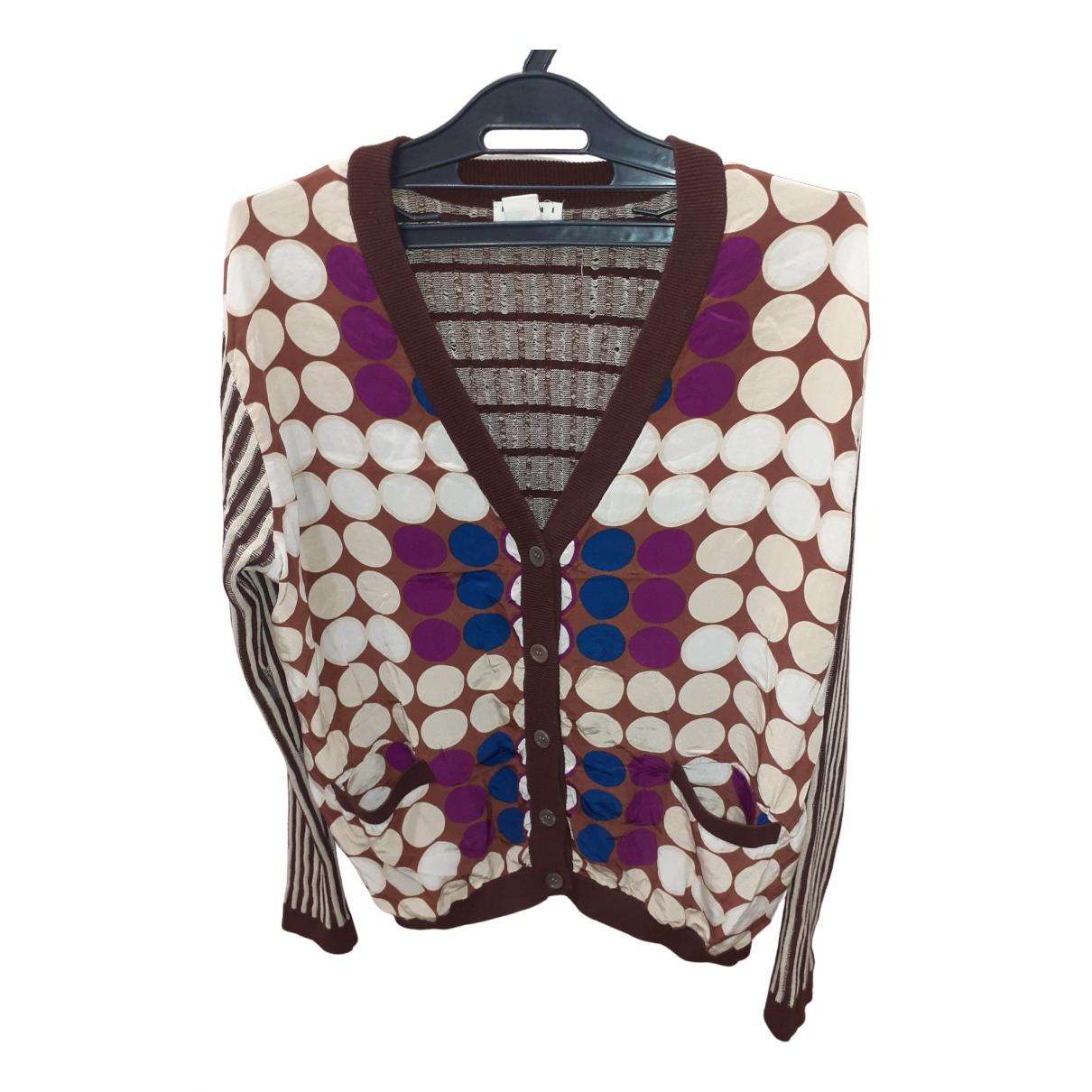 Marni For H&m - Pull   pour femme en coton - multicolore