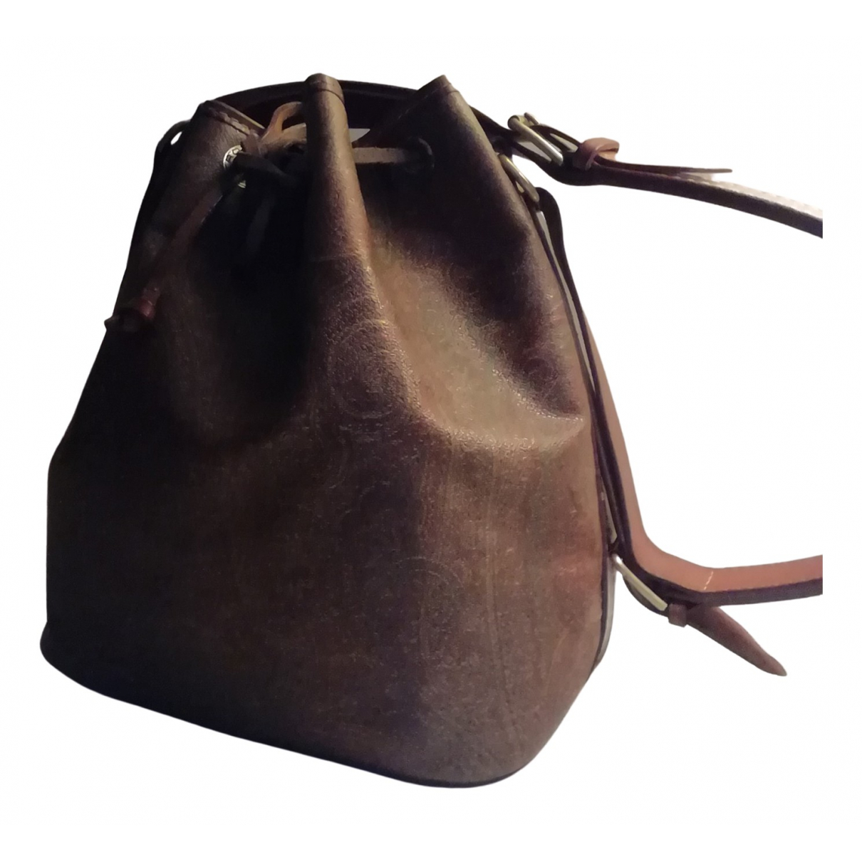 Etro \N Brown Leather handbag for Women \N