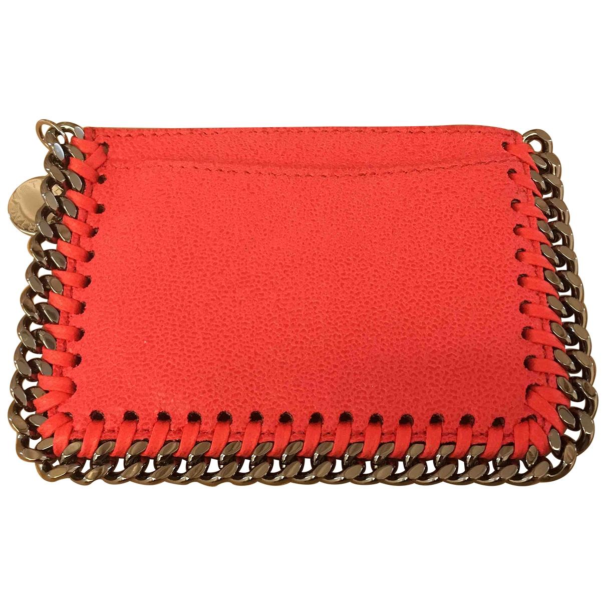 Stella Mccartney \N Pink Cloth wallet for Women \N