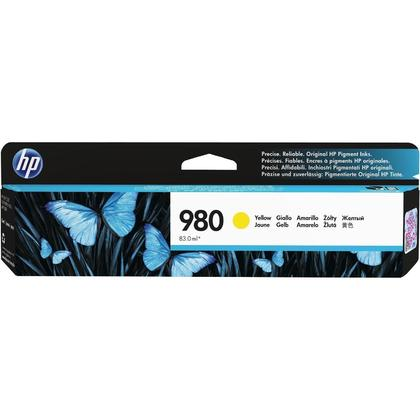 HP 980 D8J09A Original Yellow Ink Cartridge