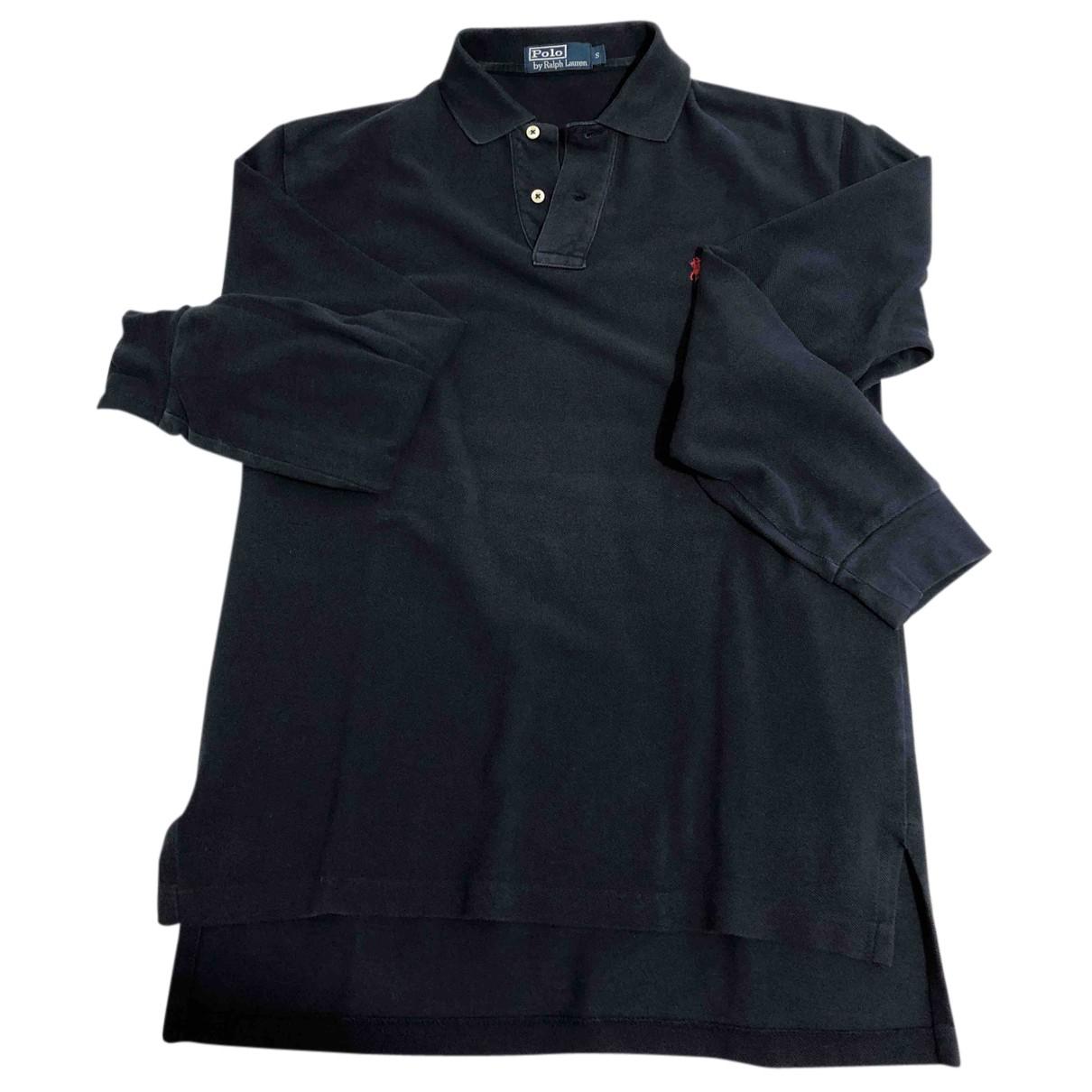 Polo Ralph Lauren - Polos Polo ajuste manches longues pour homme en coton - bleu
