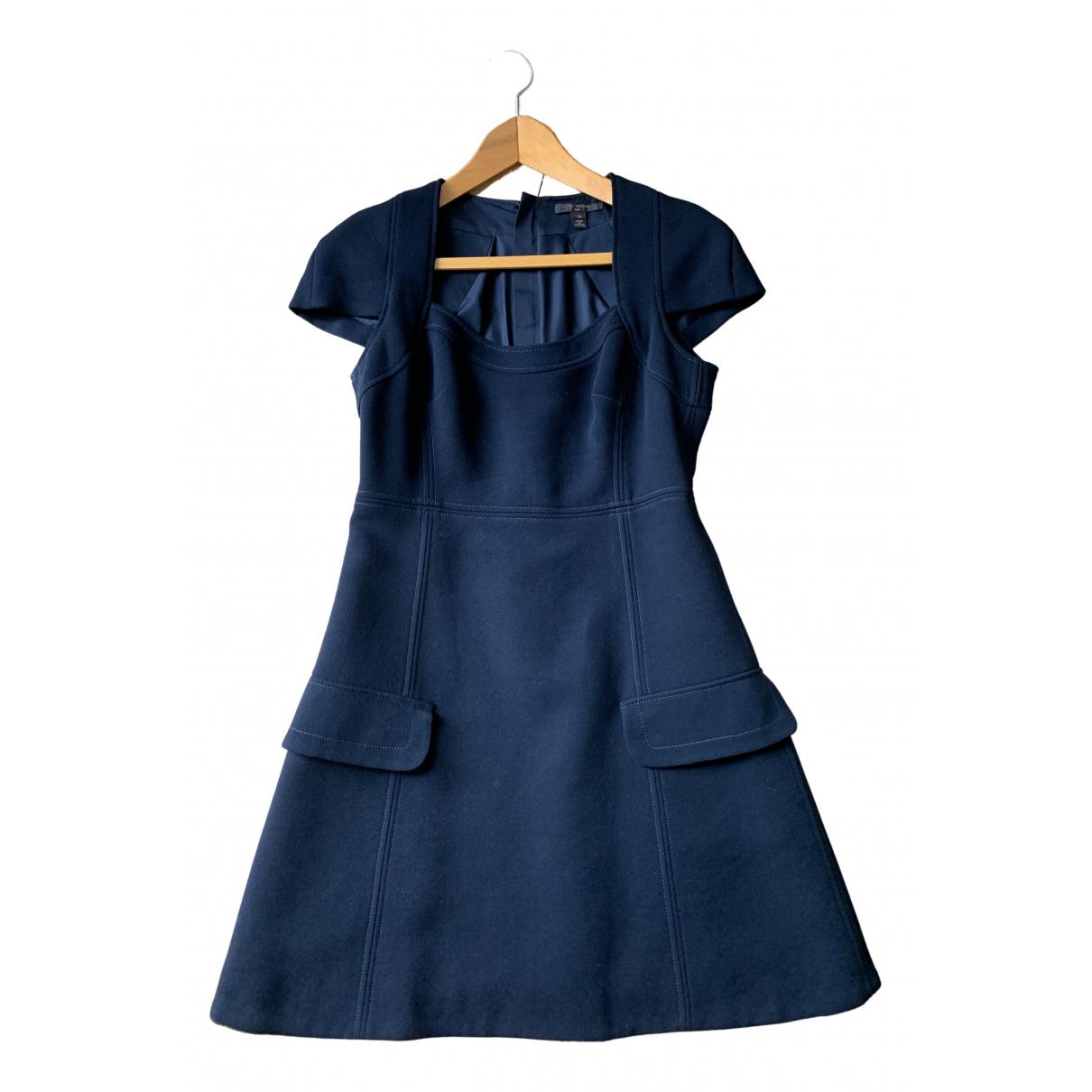 Louis Vuitton \N Kleid in  Schwarz Wolle