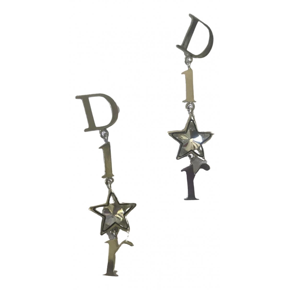 Dior \N OhrRing in  Silber Metall