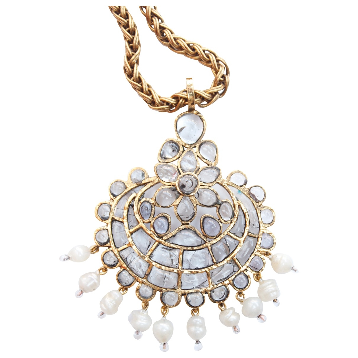 Chanel \N Glass necklace for Women \N