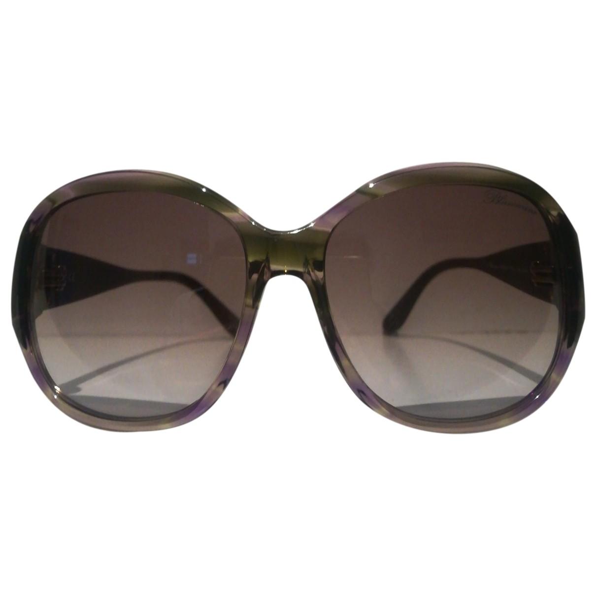 Blumarine \N Sonnenbrillen in  Lila Kunststoff