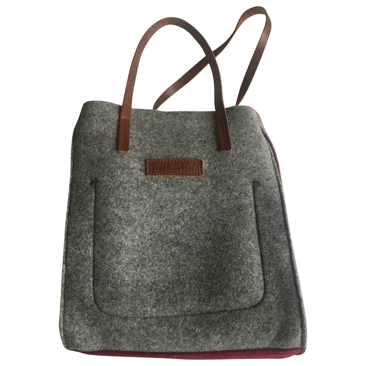 Timberland \N Grey Wool handbag for Women \N