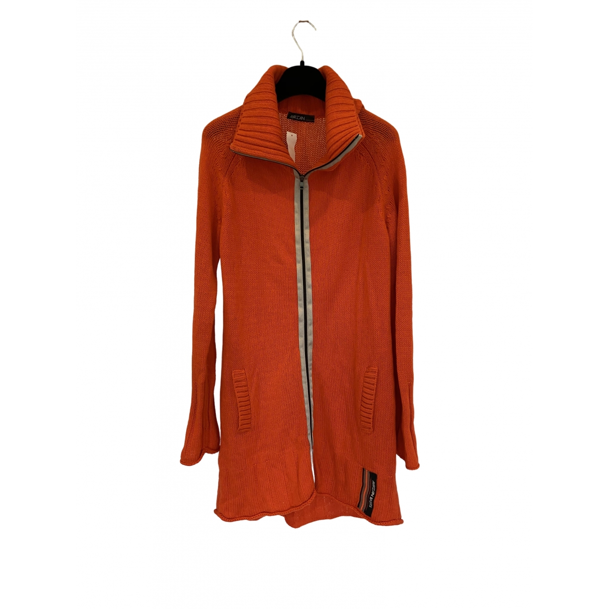 Marc Cain \N Orange Wool jacket for Women 4 0-5