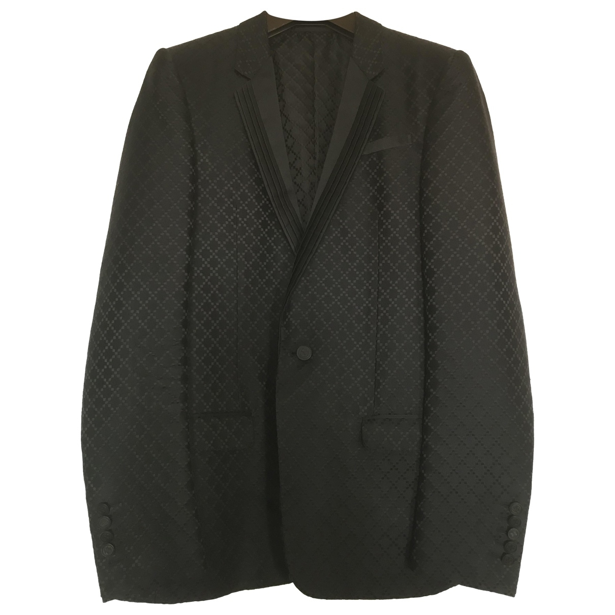Gucci \N Black Silk jacket  for Men 46 IT
