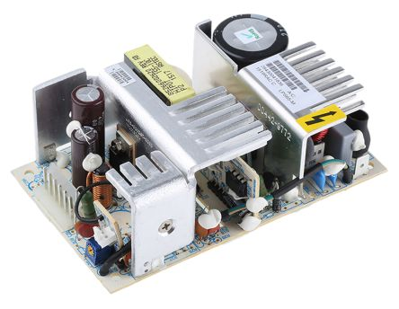 Artesyn Embedded Technologies , 60W Embedded Switch Mode Power Supply SMPS, 24V dc, Open Frame, Medical Approved