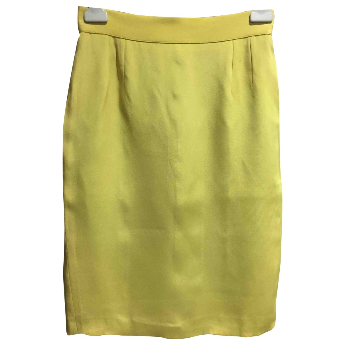 Dior \N Yellow skirt for Women 44 IT