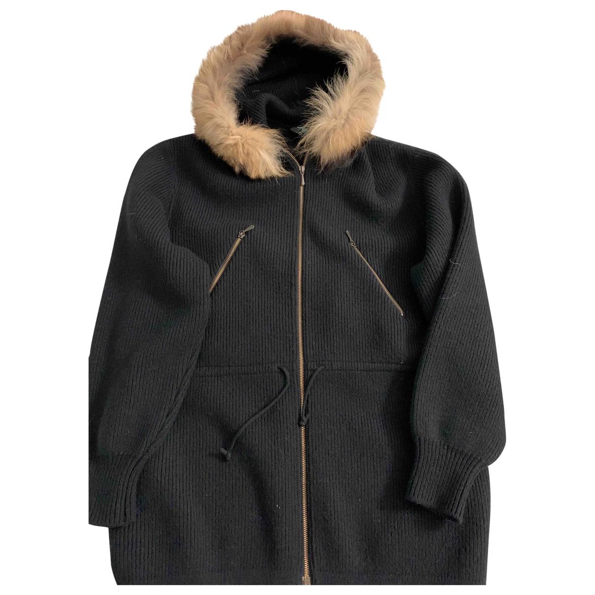 Jean Paul Gaultier \N Jacke in  Schwarz Wolle