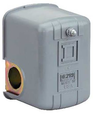 Square D Fresh Water Differential Pressure Switch, 2NC 15 → 30 (Approximate) psi, 20 → 65 (Rising) psi,