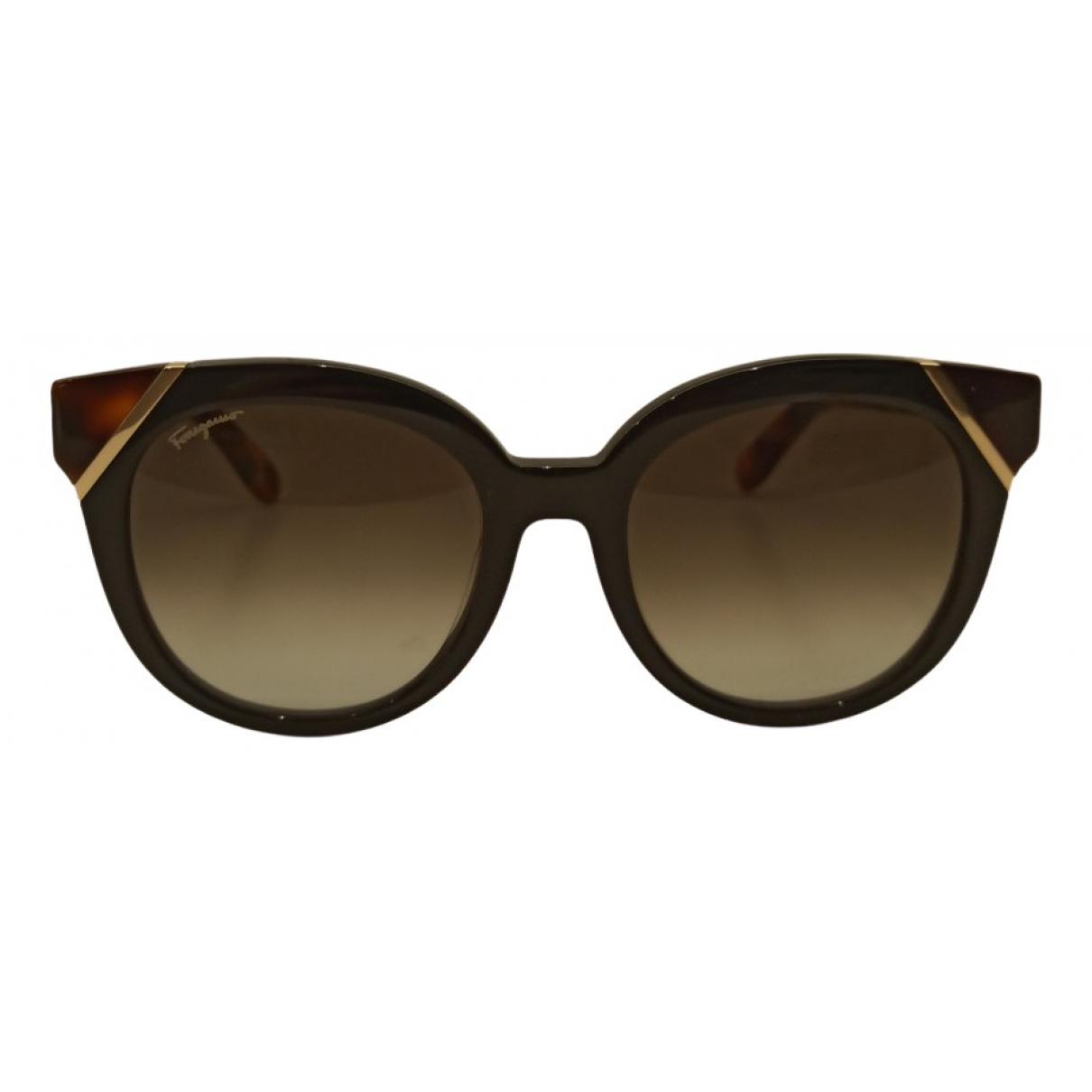 Gafas oversize Salvatore Ferragamo