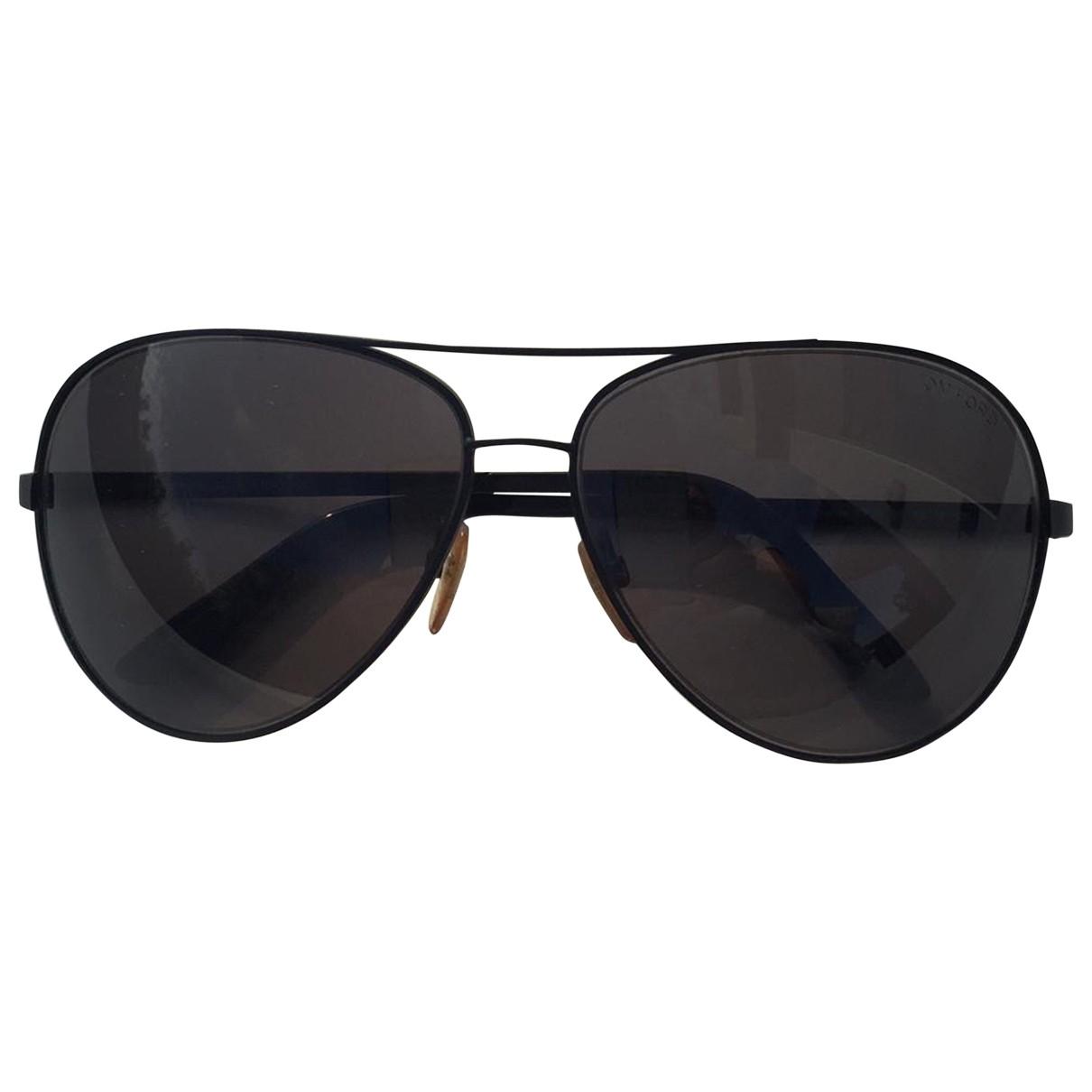 Tom Ford \N Sonnenbrillen in  Schwarz Metall