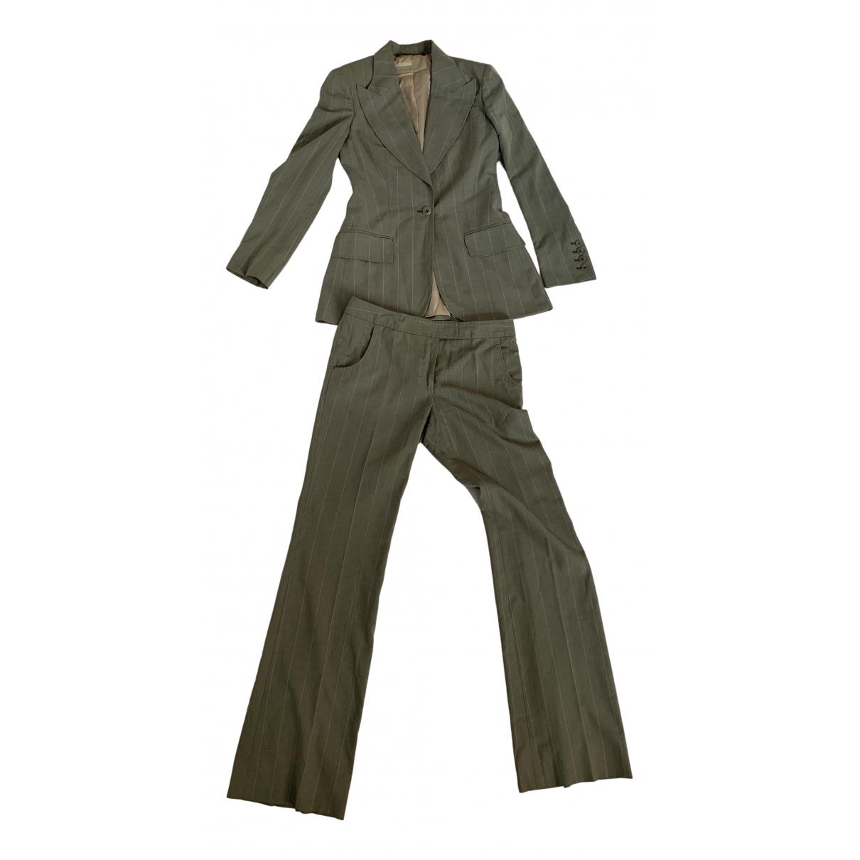 Stella Mccartney - Pantalon   pour femme en laine - vert