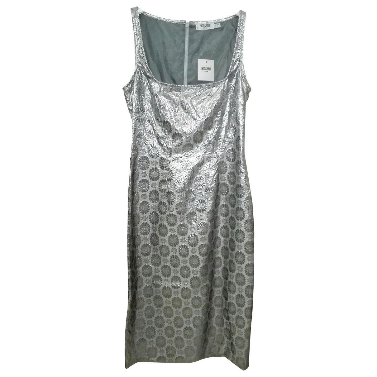 Moschino Cheap And Chic - Robe   pour femme - metallise