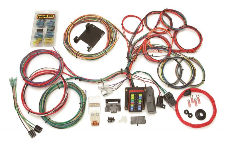 Painless Wiring 10140 Customizable Weatherproof Chassis Harness-26 Circuits