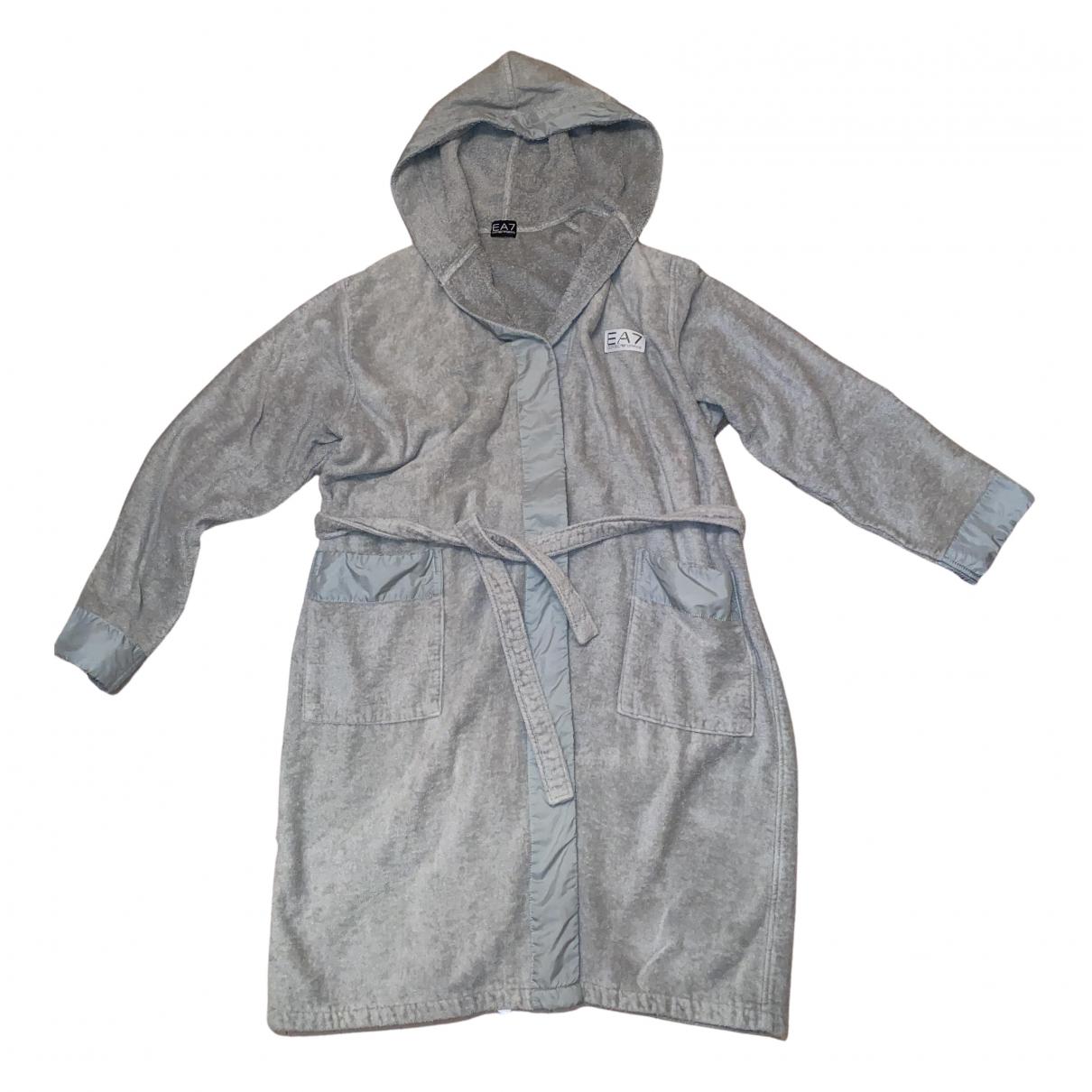 Emporio Armani - Bain   pour homme en coton - elasthane - gris