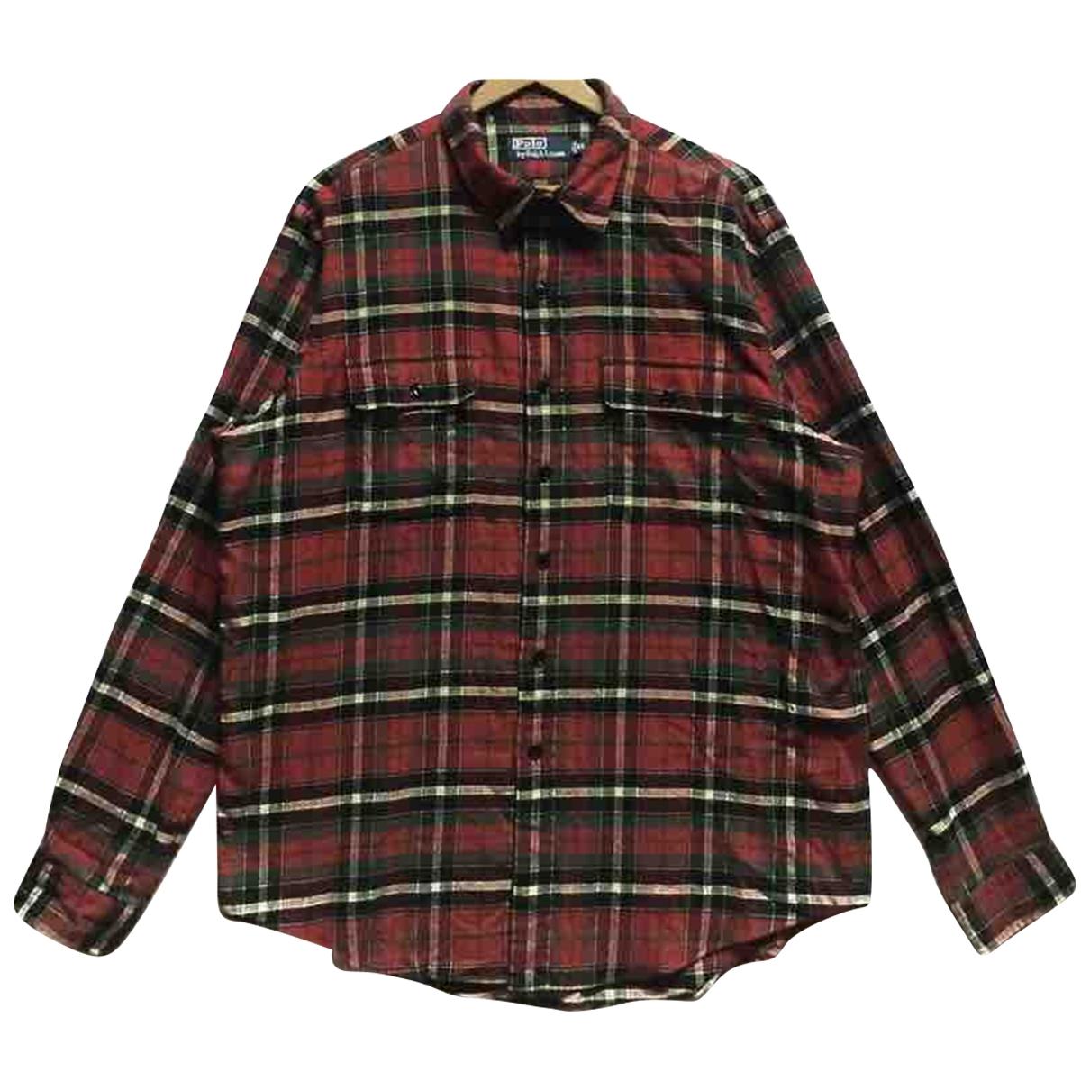 Polo Ralph Lauren \N Hemden in  Rot Baumwolle