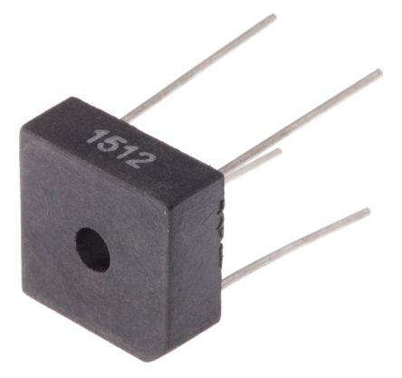 Vishay VS-KBPC1005, Bridge Rectifier, 3A 50V, 4-Pin D 72 (5)