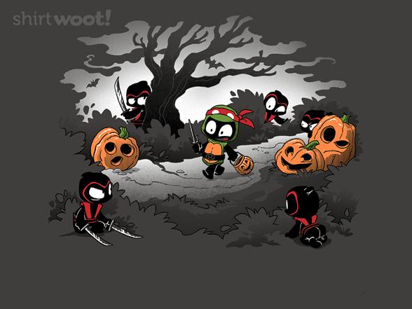 Oblivious Ninja: Trick Or Treat T Shirt